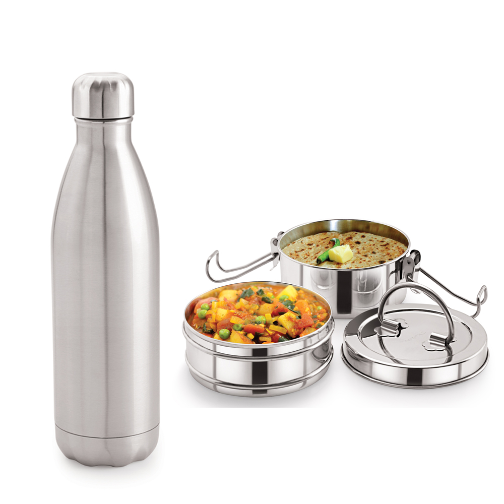 Neelam Combo 25 Tiffin with Bottle