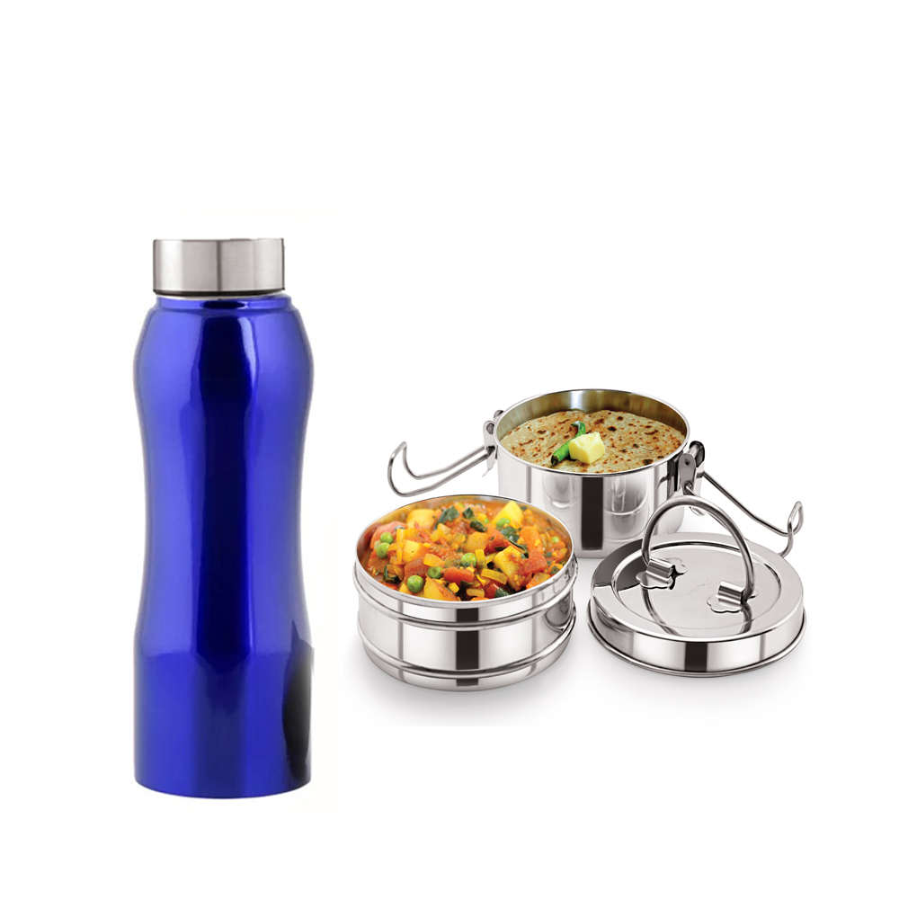 Neelam Combo 7 Tiffin with Bottle