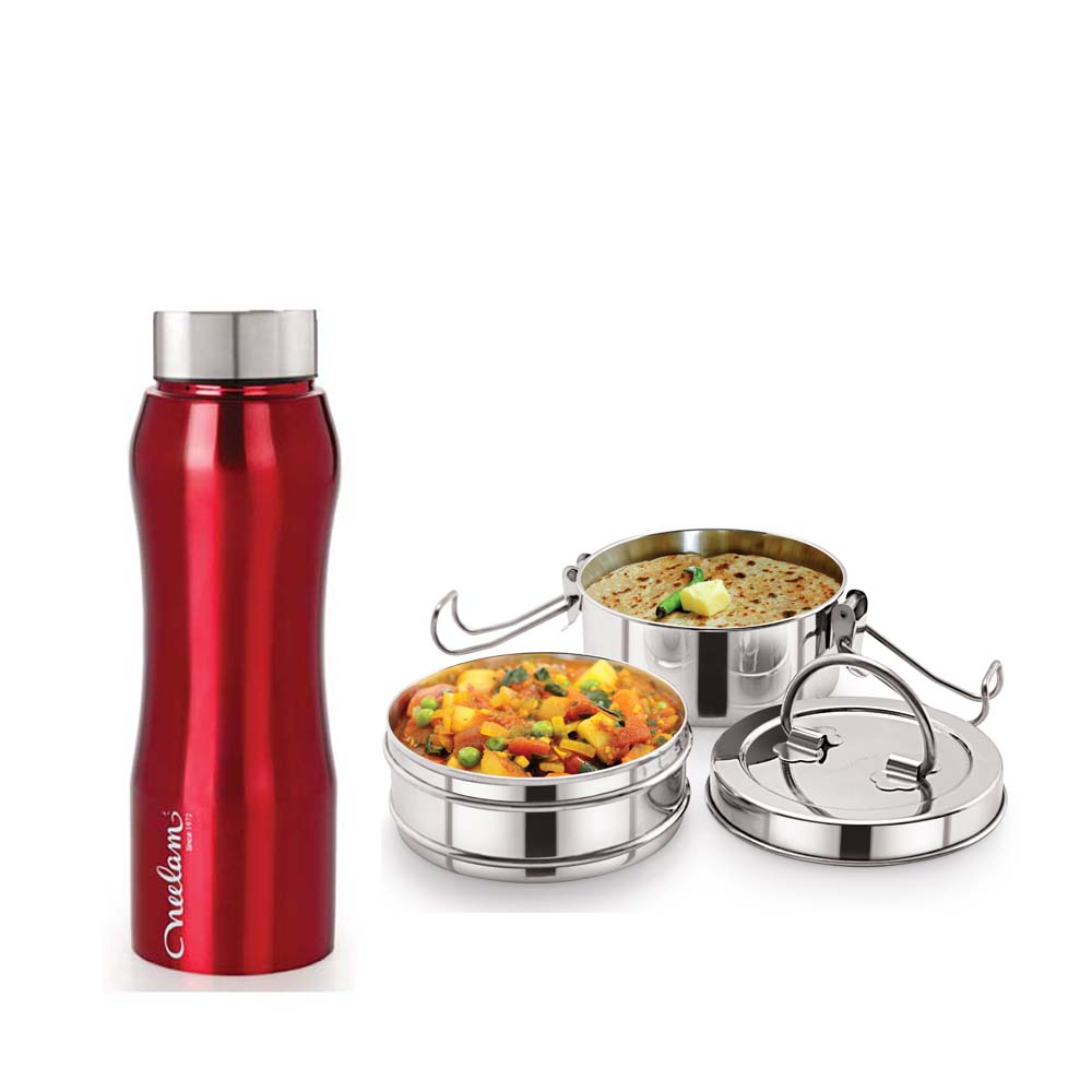 Neelam Combo 11 Tiffin with Bottle